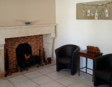 Guest lounge for B&B and second lounge for exclusivity rental