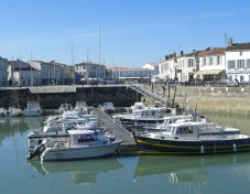 Harbour at St-Martin-de-Re