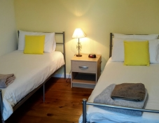 Twin bedroom no. 2 and ensuite